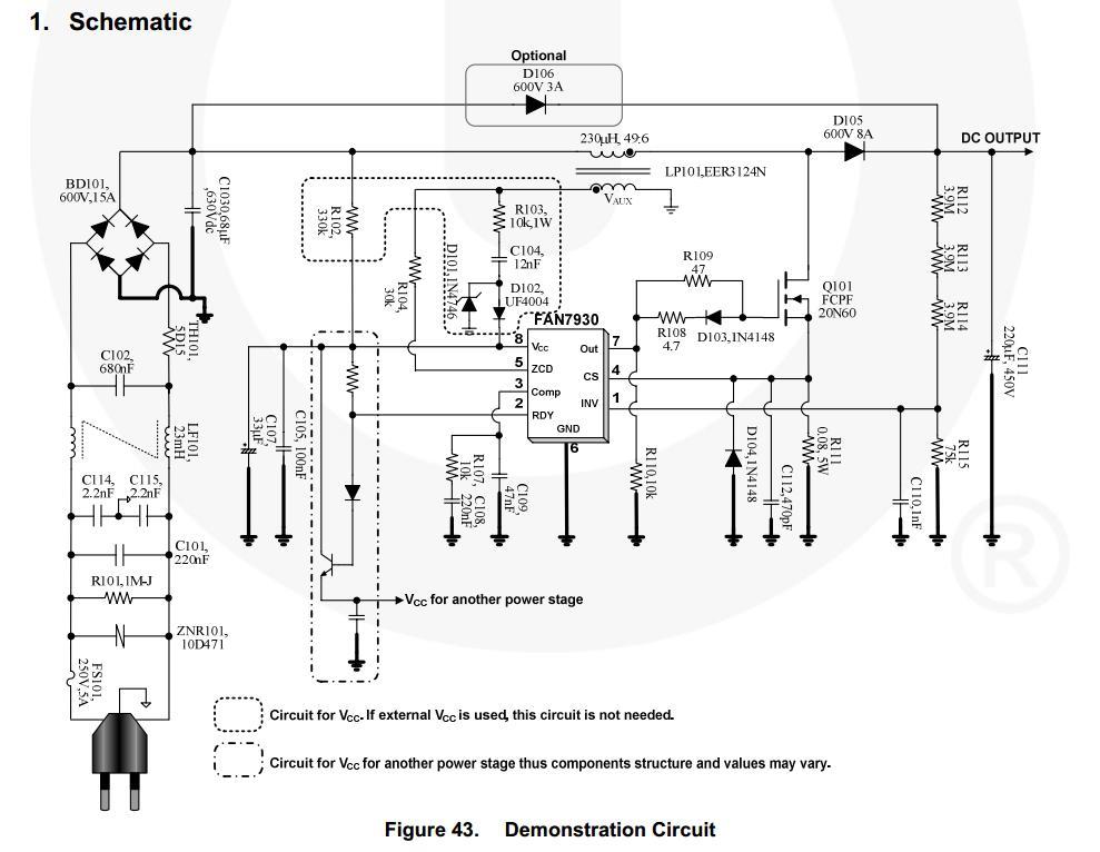 Lc75341 схема включения